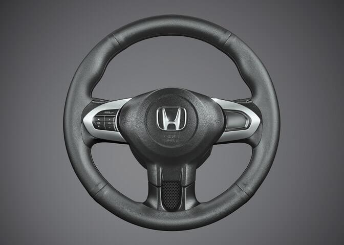 Steering Wheel Cover Plain Black