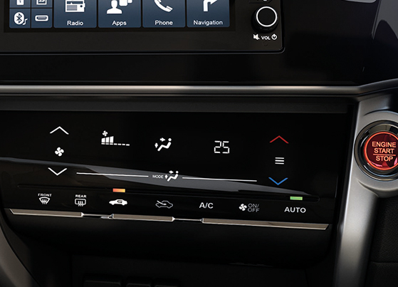 Auto AC with Touch Control panel