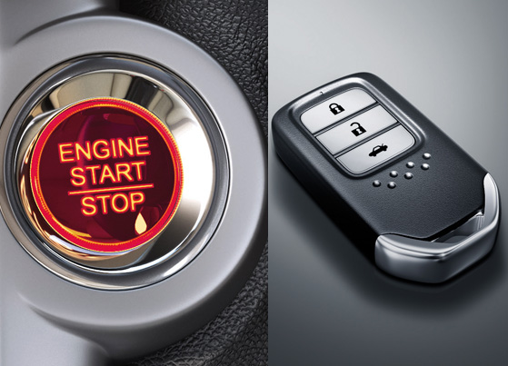 Engine Start/Stop & Honda Smart Key System