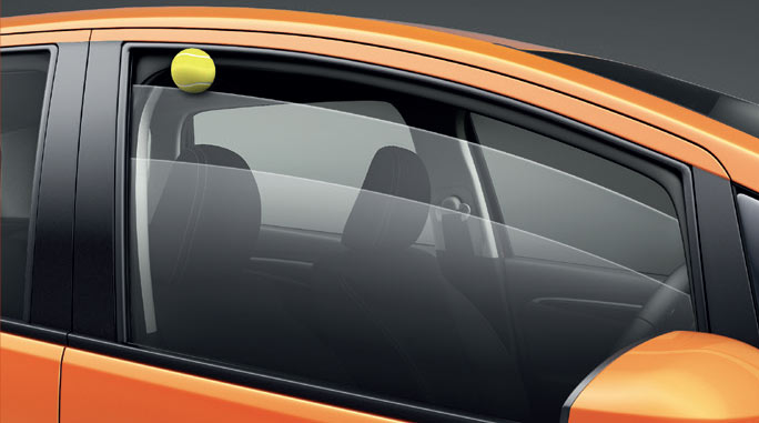Driver Side Window One Touch Up/Down with Pinch Guard