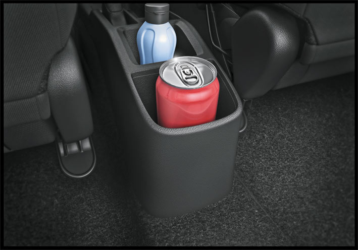 Floor Console Bottels Holders