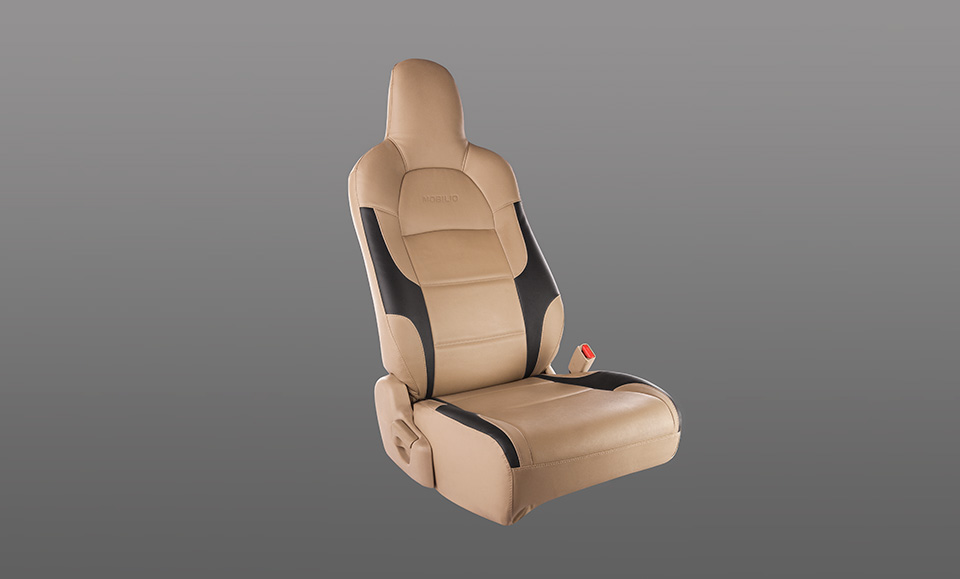 Seat Cover PVC Black Wings