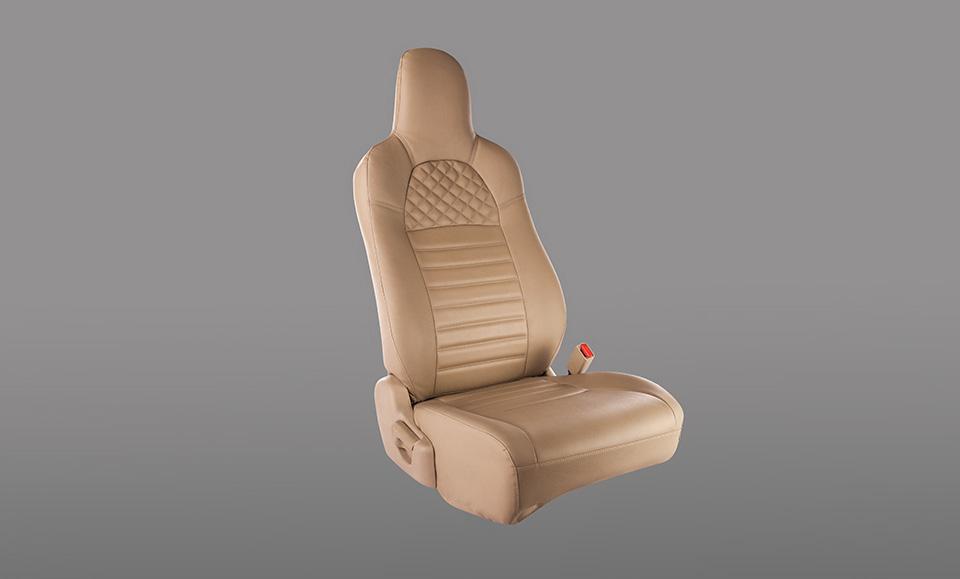 Seat Cover- PVC Cross stitch