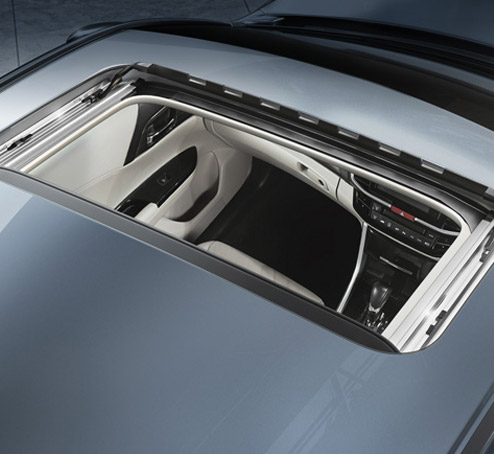 One-Touch power sunroof