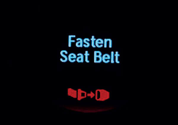 Deiver & Co-driver Seat Belt Reminder
