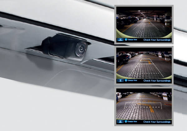 Multi-Angle Rear View Camera