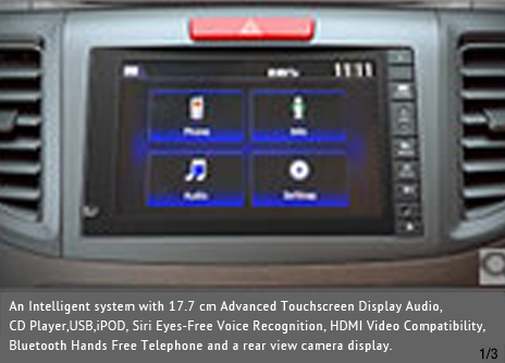 17.7cm Advanced TouchScreen Display Audio