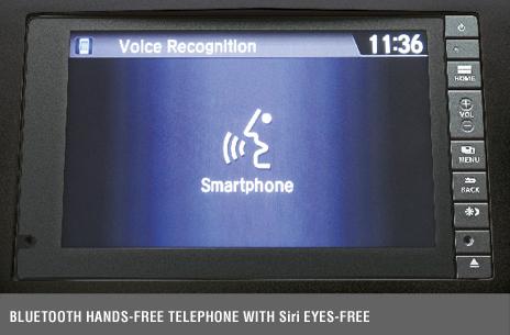 Bluetooth® Handsfree Telephone With Siri® Eyes-Free