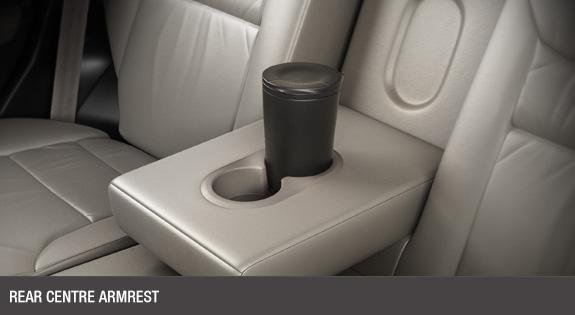 Rear Center Armrest