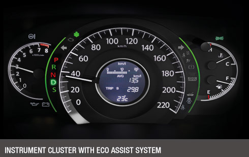 Instrument Cluster with ECO Assist System