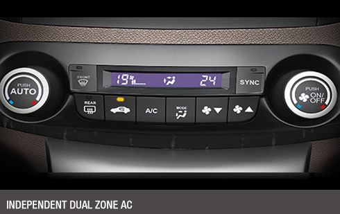 Independent Dual Zone AC