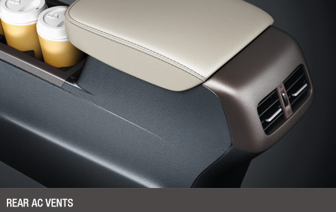 Rear AC Vents