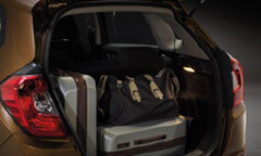 Ample Luggage Space