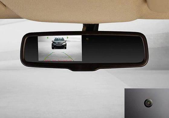Parking Sensors with Display on IRVM
