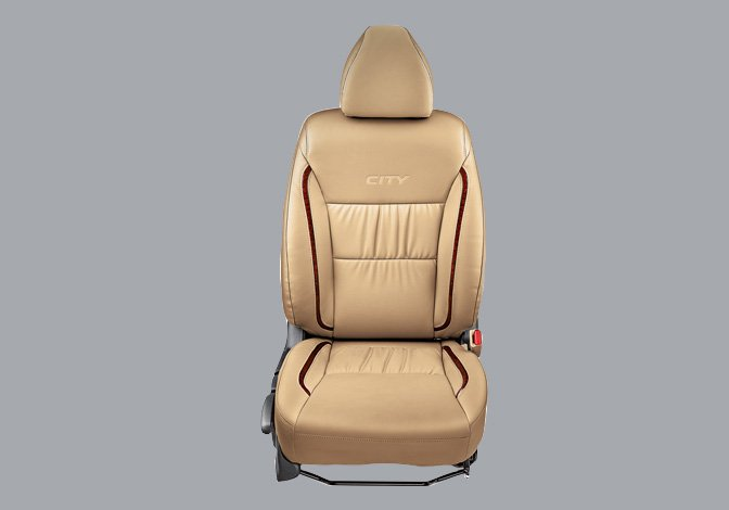 Seat Cover PV Gathering with Woody Stripes