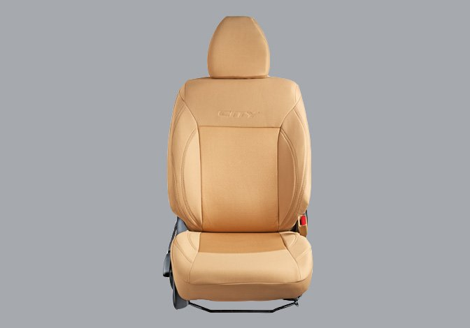 Seat Cover Fabric Beige Fusion